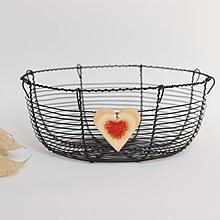 Košíky - košík so srdiečkom - 11175992_