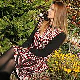 Šaty - Šaty na jesenné prechádzky... - 11175603_