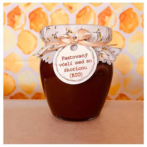 Medovo - škoricový krém (sen) BIO