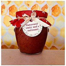 Potraviny - Pastovaný včelí med s malinami - 11175098_