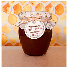 Potraviny - Medovo - škoricový krém (sen) BIO - 11175118_