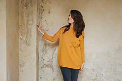 Mikiny - Mikina Yellow Autumn - 11174566_