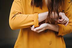 Mikiny - Mikina Yellow Autumn - 11174572_