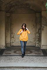 Mikiny - Mikina Yellow Autumn - 11174580_