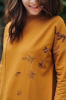 Mikiny - Mikina Yellow Autumn - 11174575_