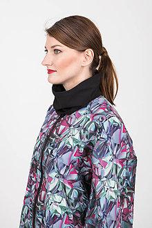 Kabáty - Zľava 20% MIESTNY SOFTSHELLOVÝ OVERSIZED PLÁSŤ TARA - 11173607_