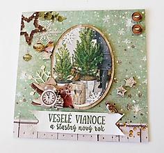 Papiernictvo - pohľadnica vianočná - 11173819_