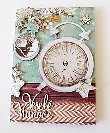 Papiernictvo - pohľadnica vianočná - 11173824_