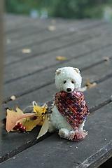 Hračky - Polárna medvedica - 11173317_