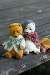 Hračky - Polárna medvedica - 11173318_
