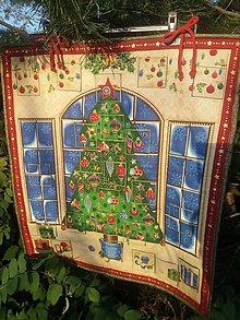 Úžitkový textil - Adventný kalendár STROM - 11174486_