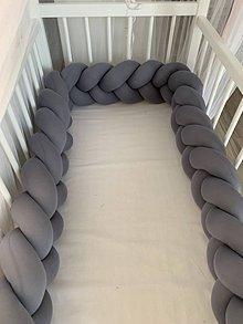 Textil - Mantinel stredne šedý bez meliru - 11175906_