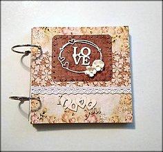 Papiernictvo - Fotoalbum svadobný, album alebo kniha hostí 15x15 cm zľava z 22 eur - 11176854_
