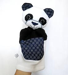 Hračky - Maňuška panda - Panda od Kvietkového chodníčka - 11176487_