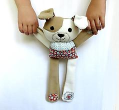 Hračky - Textilné zvieratko - Havino z Veselého dvora - 11176851_