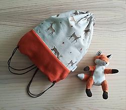 Detské tašky - Detský vak do škôlky - Braček Jelenček - 11174856_