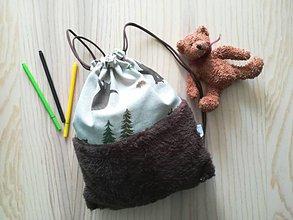 Detské tašky - Detský vak do škôlky - Medvedík - 11175096_