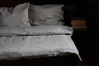"""Úžitkový textil - Lněné povlečení ,,Natur"""" - 11174464_"""