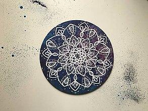 Obrazy - Mandala na kruhovom plátne (universe2) - 11176817_