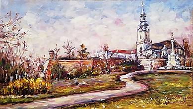 Obrazy - Letná Nitra - 11176936_