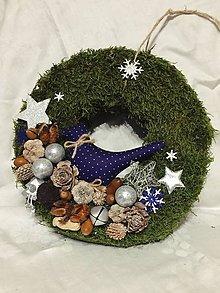 Nezaradené - Vianočný veniec - 11174268_