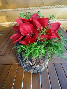 Dekorácie - Drevená dekorácia - 11174094_