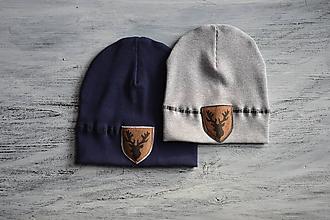 Detské čiapky - Flexi čiapka s aplikáciou - 11176999_