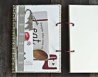 Papiernictvo - Vianočný receptár/Recepty/ Vianoce-odoslanie ihneď - 11176659_