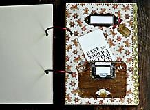 Papiernictvo - Vianočný receptár/Recepty/ Vianoce-odoslanie ihneď - 11176660_