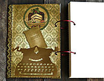 Papiernictvo - Vianočný receptár/Recepty/ Vianoce-odoslanie ihneď - 11176663_