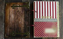 Papiernictvo - Vianočný receptár/Recepty/ Vianoce-odoslanie ihneď - 11177155_