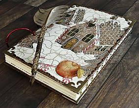 Papiernictvo - Vianočný receptár/Recepty/ Vianoce/ Kuchárska kniha - 11176652_