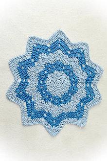Úžitkový textil - Háčkovaná dečka - 11173526_