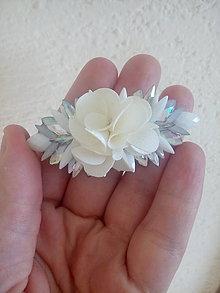 Iné šperky - Svadobná spona do vlasov - 11175108_