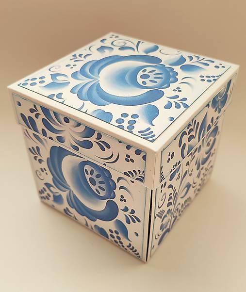 Krabička na peniaze pre mladomanželov