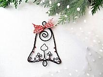 Dekorácie - zvonček ornamentový - 11173459_