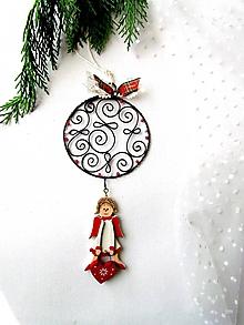 Dekorácie - vianočná dekorácia* 21 cm - 11173962_