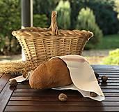 Úžitkový textil - Kuchynská utierka z ľanového plátna - 11175303_