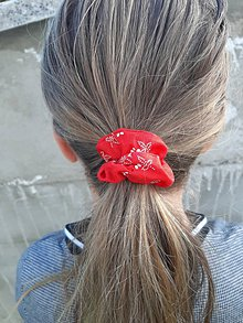 Detské doplnky - Susugo bavlnená gumička do vlasov. - 11175351_