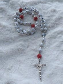 Iné šperky - Ruženčeky (Biela) - 11181258_