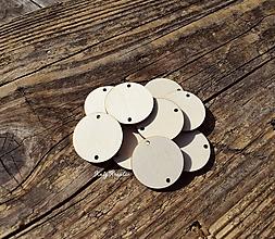 Materiál ručne robený - krúžky k rodinnému kalendáru - 11178261_