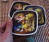 Papiernictvo - Karma Sisters vinylové nálepky - 11180308_