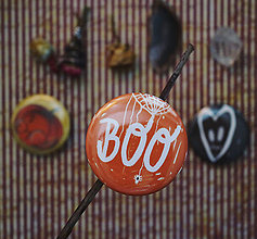 Odznaky/Brošne - Buttonky Dušičkové - 11180199_