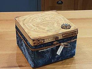 Krabičky - Krabička na šijacie potreby alebo iné - 11178056_