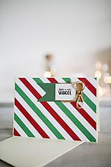 Papiernictvo - Vianočná pohľadnica - 11178292_