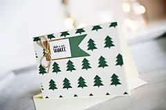 Papiernictvo - Vianočná pohľadnica - 11178305_
