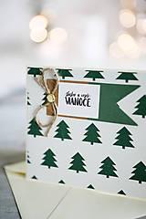 Papiernictvo - Vianočná pohľadnica - 11178306_