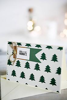 Papiernictvo - Vianočná pohľadnica - 11178303_