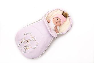 Textil - Fusak s jelenčekom pre dievčatko - 11178684_