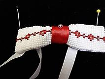 Doplnky - bielo-červená 2 - 11180810_